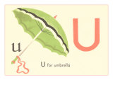 U is for Umbrella Art