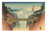 Japanese Woodblock, Bridge Posters