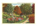 Grand Avenue Park, Waukegan, Illinois Posters