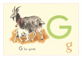 G is for Goat Prints
