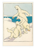 Fun for Polar Bears Prints