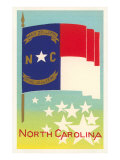 Flag of North Carolina Prints