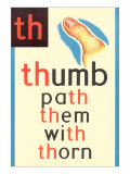 TH for Thumb Print