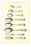 Silverware Patterns Prints