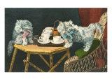 Kitten Tea Party Prints