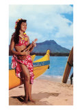 Hula Girl by Outrigger, Hawaii Prints