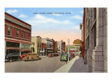 Center Street, Pocatello, Idaho Poster