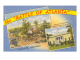 Battle of Atlanta, Georgia Posters