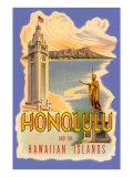 Honolulu Poster Póster