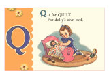 Q is for Quilt Prints