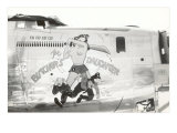 Nose Art, Butcher's Daughter, Pin-Up Print