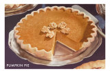 Pumpkin Pie with Walnuts Posters