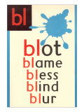 BL for Blot Plakater