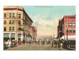 Eighth Street, Boise, Idaho Print
