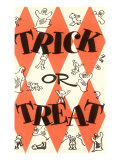 Halloween, Trick or Treat Print