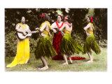 Hula Dancers, Hawaii Art