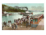 Dock, Coeur d'Alene, Idaho Posters