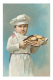 Little Boy Baker Prints
