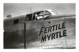 Nose Art, Fertile Myrtle Posters