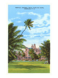 Royal Hawaiian Hotel, Honolulu, Hawaï Poster