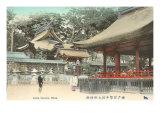 Ikuta Temple, Kobe, Japan Prints