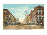 Downtown Terre Haute, Indiana Prints