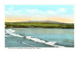 Hilo and Mauna Kea. Hawaii Prints