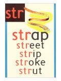 STR for Strap Print