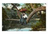 Couple in Tree, Valparaiso, Indiana Prints