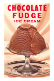 Chocolate Fudge Ice Cream Prints