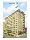 Jefferson Hotel, Peoria, Illinois Prints