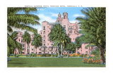 Royal Hawaiian Hotel, Honolulu, Hawaii Posters