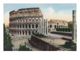 The Colosseum, Rome Posters