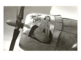 Nose Art, Shoo Shoo&#39;s Baby, Pin-up Photo