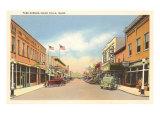 Park Avenue, Idaho Falls, Idaho Prints