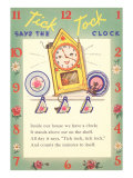 Tick-Tock Says Clock Prints