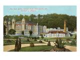 West Baden Springs Hotel, Indiana Print