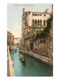 San Trovaso Canal, Venice, Italy Posters