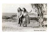 Hula Dancers, Photo Print