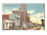 Broad Street, Augusta, Georgia Print