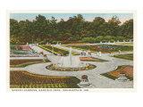 Garfield Park, Indianapolis, Indiana Prints