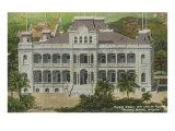 Palace, Honolulu, Hawaii Prints