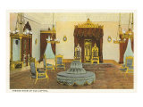 Throne Room, Old Capitol, Hawaii Prints
