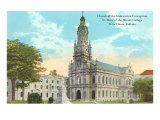 Immaculate Conception Church, Terre Haute, Indiana Prints