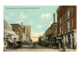 Broughton Street, Savannah, Georgia Posters