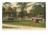 Courthouse Square, Columbus, Georgia Prints
