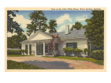 Little White House, Warm Springs, GA, Art Print