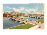 Bridge, Des Moines, Iowa Print