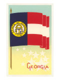 Flag of Georgia Prints