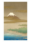 Fujiyama in the Mist Prints
